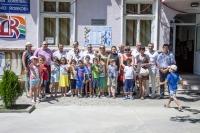 """ДК """"Йовко Йовков"""" е с ремонтирана детска площадка, заслугата е на бизнес сдружението"""