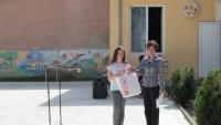 """Конкурс за рисунка """"Пролет, здравей"""", организиран съвместно с ДК """"Йовко Йовков"""""""