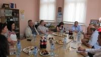 Среща на УС с представители на медиите в Севлиево 2014