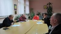 Среща на работна група към сдружението с директорите на средните училища в общината
