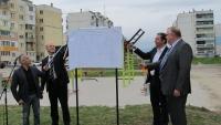 """Бизнес сдружениe  """"Севлиево 21 век"""" официално откри фитнес център на открито"""